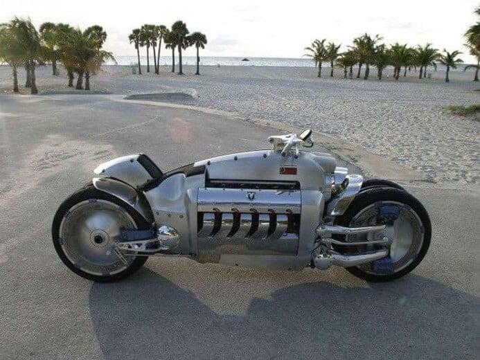 trasportare la moto più veloce del mondo