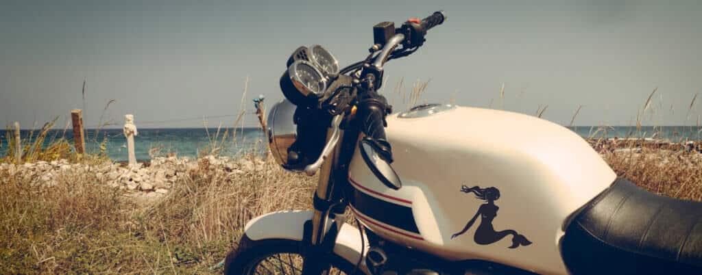 come spedire una moto al mare
