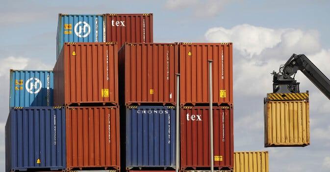 container per spedire la moto all'estero