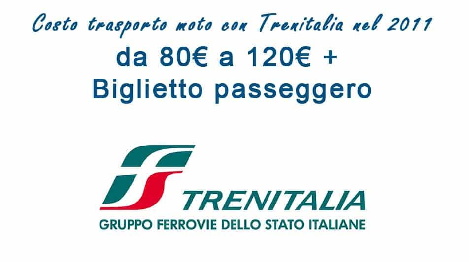 costo trasporto moto treno 2020